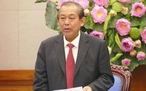 Phó thủ tướng Trương Hòa Bình: Phải khởi tố một số vụ cát tặc!