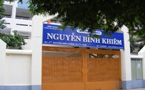 Giám sát công trình thi công quanh Trường tiểu học Nguyễn Bỉnh Khiêm