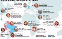 Những lãnh đạo thế giới từng bị phế truất