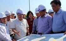 Phó thủ tướng thị sát tuyến cao tốc Trung Lương - Mỹ Thuận