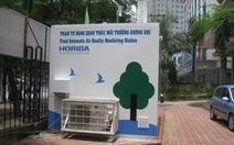 Hà Nội đầu tư 359 trạm quan trắc môi trường không khí