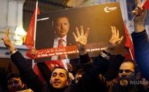 Lãnh đạo ở châu Âu chỉ trích Tổng thống Thổ Nhĩ Kỳ