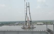 Tháng 9-2017 sẽ hợp long cầu Vàm Cống
