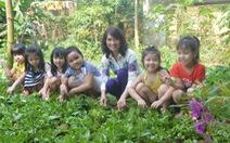 Đưa vườn rau vào trường học
