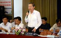 UBND TP.HCM xin lỗi dân việc điều chỉnh tim tuyến đường Hồng Hà