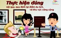 Bộ VH-TT&DL ban hành bộ Quy tắc ứng xử văn minh trong du lịch