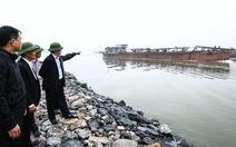 Mỗi ngày có 60 tàu hút cát trên sông Cầu