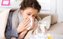 Tăng cường sức đề kháng hạn chế mắc cảm cúm khi giao mùa