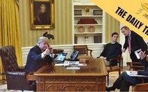 Anh, Mỹ hục hặc về chuyện 'nghe lén ông Trump'