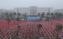 Đồng diễn thể dục dưỡng sinh đông nhất Việt Nam