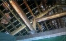 Thanh Hóa: Lốc xoáy, mưa lớn gần 100 căn nhà tốc mái