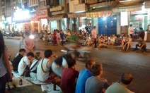 Khu phố tây Bùi Viện thành phố đi bộ mỗi tối cuối tuần