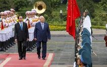 Lễ đón chính thức Tổng thống Israel tại Hà Nội