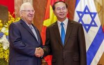 Đặt mục tiêu 3 tỉ USD cho thương mại song phương VN -Israel