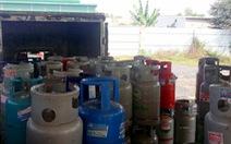Phát hiện cơ sở sang chiết gas trái phép trong vườn tràm