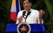 Tổng thống Philippines 'tin rằng' Trung Quốc không xây đắp ở Scarborough