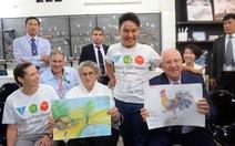 Tổng thống Israelthămdự án xã hội cho người khuyết tật