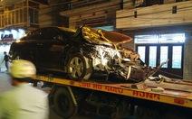 Xe Camry phóng bạt mạng gây tai nạn liên hoàn tại Hải Phòng