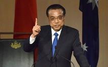 Thủ tướng Trung Quốc nói 'không quân sự hóa' Biển Đông