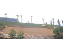 Sân golf FLC Hạ Long: Yêu cầu ngưng, chủ đầu tư vẫn thi công