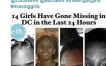 Dân thủ đô Mỹ chết lặng vì hàng loạtbé gái mất tích