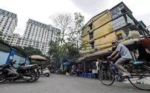 Hà Nội mới cải tạo được 1% chung cư cũ