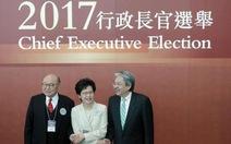 Bà Lâm Trịnh Nguyệt Nga trở thành trưởng đặc khu Hong Kong