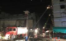 Cháy bùng phát trở lại tạiCông ty Kwong Lung Meko