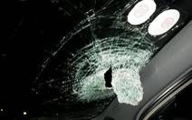 Điều tra vụ ô tô bị ném đá trên đường Hà Nội - Thái Nguyên