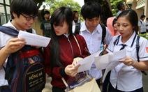 Đề thi THPT quốc gia thêm yêu cầu vận dụng kiến thức vào cuộc sống