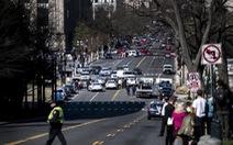 Bắt một người trong vụ tông xe gần tòa nhà Quốc hội Mỹ