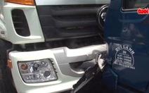 Xem clip nữ tài xế 20 tuổi lái xe tải gây tai nạn