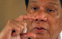 Khoảnh khắc yếu mềm của ông Duterte khi nhớ mẹ