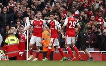 Arsenal chật vật cầm chân M.C tại Emirates