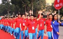 Khai mạc đại hội Thể dục thể thao thanh niên thủ đô
