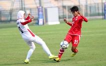 Điểm tin tối 3-4: Tuyển nữ Myanmar đá bại Iran