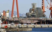 Hàng không mẫu hạm thứ hai của Trung Quốc sắp ra khơi