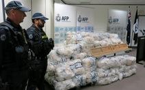 Úc bắt giữ mẻ ma túy đá khổng lồ