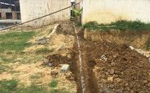 Chôn đường ống xảthải trực tiếp ra môi trường