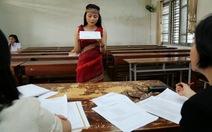Chuẩn bị gì để thi tốt môn năng khiếu?