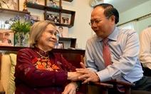 Lãnh đạo TP.HCM thăm phu nhân cố Tổng bí thư Lê Duẩn