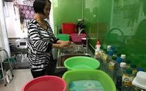 Chung cư cao cấp thiếu nước sạch