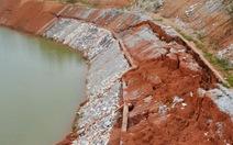 Kênh thủy lợi hơn 750 tỉ đồng chưa sử dụng đã nứt toác