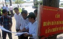 Ưu tiên bán hàng Việt tại chợ phiên cuối tuần