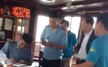Giải trình việc du khách tố bị 'giam lỏng' giữa Vịnh Hạ Long