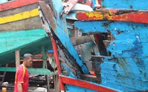 Tàu sắt Hải Phòng đâm chìm tàu cá Quảng Nam trong đêm