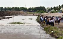 Hai học sinh lớp 8 chết thảm vì lún hố cát công trình