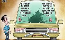 Ly kỳ vụ án đập bể kính xe: Phạt xong điều tra tiếp