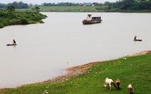 Bắc Giang đề nghị chấm dứt nạo vét luồng sông Lục Nam