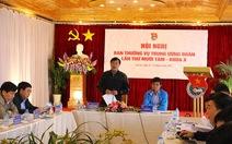 Bế mạc Hội nghị Ban Thường vụ Trung ương Đoàn
